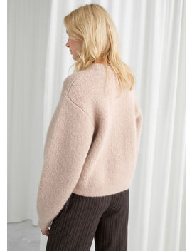 Chunky Jacquard Knit Sweater by & Other Stories