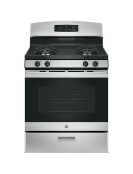 30 In. 4.8 Cu. Ft. Free Standing Gas Range In Stainless Steel by Ge