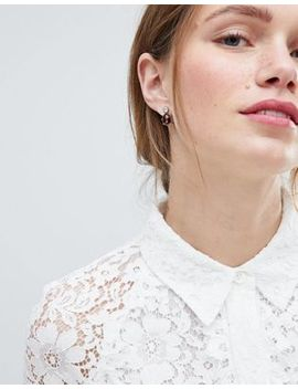 Asos Design Twinkle Stone Jewel Earrings by Asos Design
