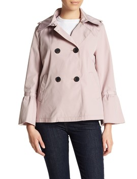 Double Breasted Bell Sleeve Coat by Bcb Generation