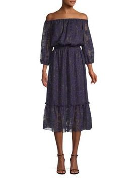 Dhara Jacquard Popover Dress by Shoshanna