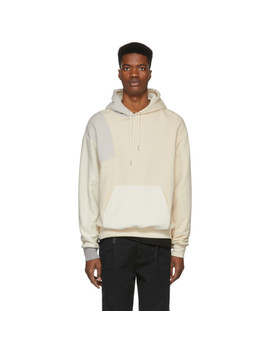 Beige Distorted Hoodie by John Elliott