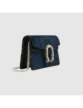 "<Font Style=""Vertical Align: Inherit;""><Font Style=""Vertical Align: Inherit;"">Dionysus Mini Bag In Gg Velvet</Font></Font> by Gucci"