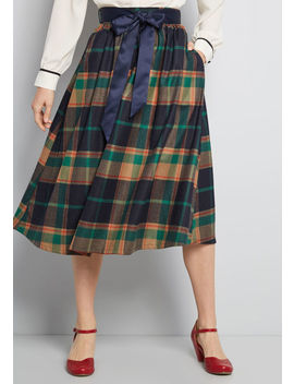 Particularly Poised A Line Skirt by Modcloth