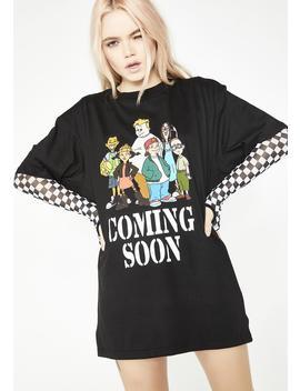 Onyx Coming Soon N' Friends Tee by Coming Soon