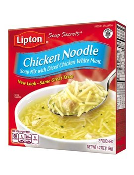 (8 Pack) Lipton Soup Secrets Instant Soup Mix Chicken Noodle 4.2 Oz by Lipton