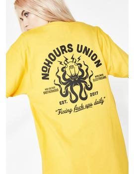 Union Tee by No Hours