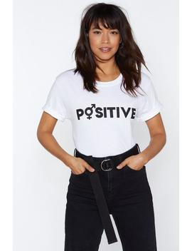Mtv Staying Alive Positive Tee by Nasty Gal