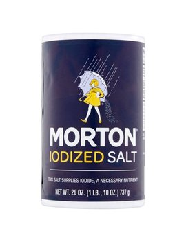 (4 Pack) Morton Iodized Salt, 26 Oz by Morton Salt