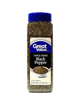 Great Value Table Grind Black Pepper Seasoning, 18 Oz by Great Value