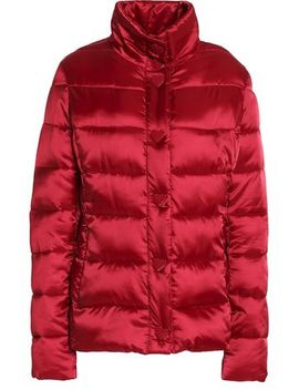 Quilted Shell Down Coat by Love Moschino
