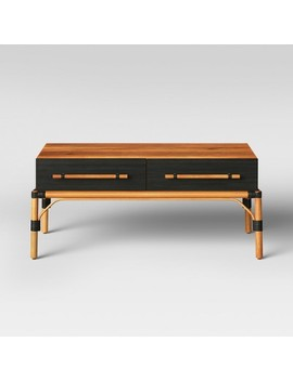 Mokara Coffee Table Brown   Opalhouse™ by Shop This Collection