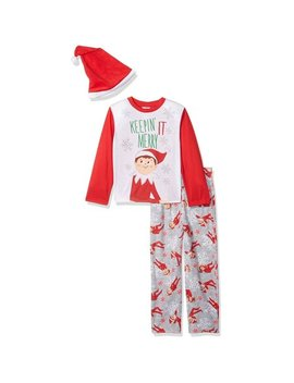 Elf On The Shelf  Boys' Family Sleep  Pajama With Hat by The Elf On The Shelf