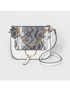 Cesca Portia Crossbody Bag   White by Cesca