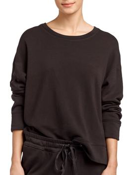 Relaxed Luxe Sweatshirt by James Perse