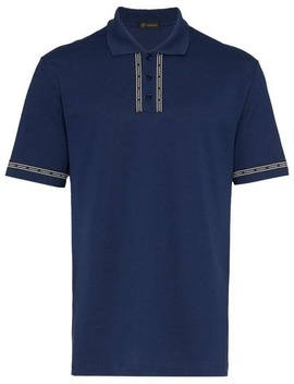 Poloshirt Mit Logo by Versace