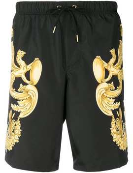Shorts Mit Print by Versace