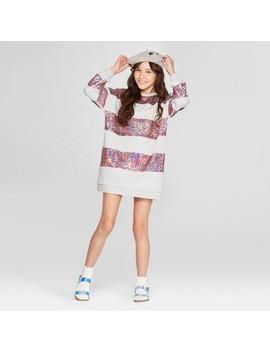 Girls' Flip Sequin Shift Dress   Cat & Jack™ Heather Gray by Cat & Jack™