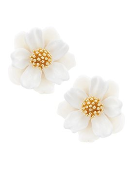 Floral Mosaic Stud Statement Earrings by Kate Spade New York
