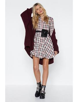 Plaid About You Mini Dress by Nasty Gal