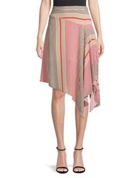 Moni Printed Handkerchief Skirt by Joie