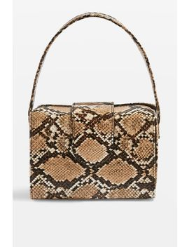 Rio Snake Print Boxy Grab Bag by Topshop