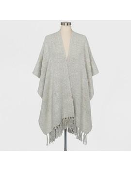 Women's Ruana Tassel Sweater   Universal Thread™ by Universal Thread™