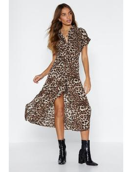 Animal Fair Leopard Dress by Nasty Gal