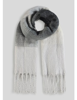 Super Soft Stripe Scarf by Matalan