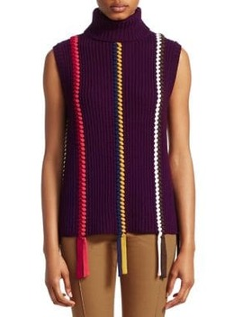 Sleeveless Turtleneck Sweater by Derek Lam 10 Crosby