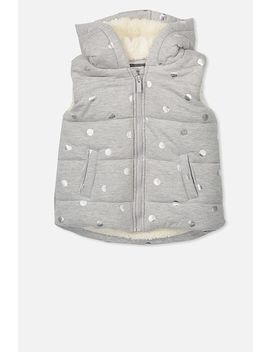 Tallulah Sherpa Vest by Cotton On