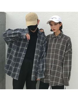 Deepwood   Couple Matching Plaid Shirt by Deepwood