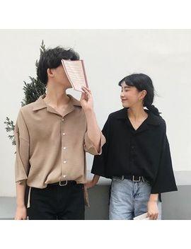 Happy Bird   Couple Matching Short Sleeve Shirt by Happy Bird