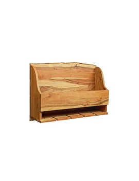 Alaterre Furniture Alpine Natural Brown Live Edge Wine Rack Wood by Shop This Collection