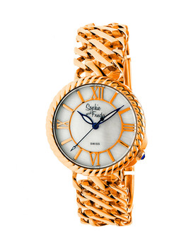 Rose Gold Tone Numeral Watch by Sophie & Freda                                      Sold Out