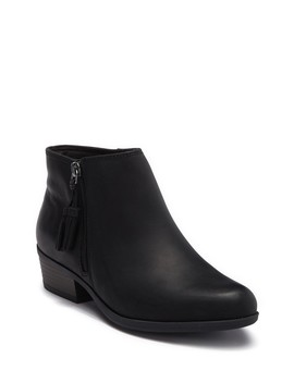 Addiy Terri Leather Ankle Bootie    Wide Width Available by Clarks