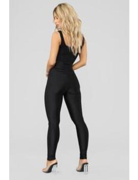Focus On Me Ruched Leggings   Black by Fashion Nova