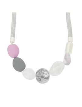 Elmore Mesh Rubber Necklace by Olivar Bonas