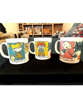 3 Unused 1995 Rugrats Nickelodeon Mugs Made By Staffordshire Tableware by Ebay Seller