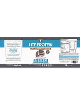 Designer Protein Lite Protein Powder, Chocolate Cookies & Cream, 10g Protein, 0.6 Lb by Designer Protein