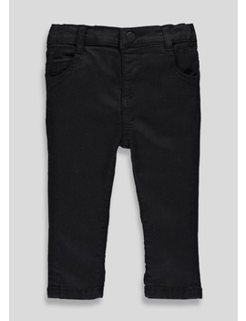 Black Stretch Skinny Jeans (3mths 5yrs) by Matalan