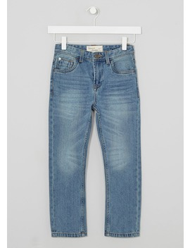 Boys Light Wash Jeans (3 12yrs) by Matalan