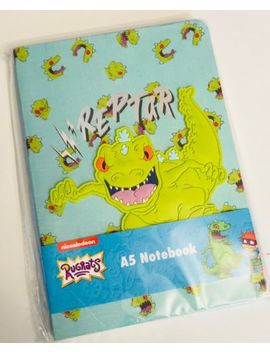 Primark Rugrats Reptar Dinosaur A5 Lined Notebook   Brand New by Ebay Seller