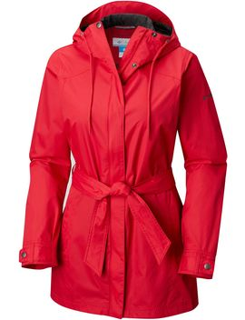 Columbia Women's Plus Size Pardon My Trench Rain Jacket by Columbia