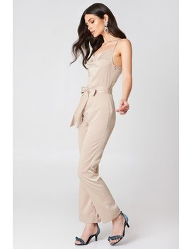 Satin Jumpsuit by Hannalicious X Na Kd