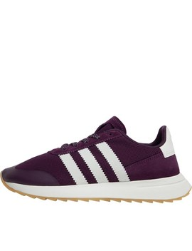Adidas Originals Womens Flb Flashback Trainers Red Night/Off White/Gum by Mand M Direct