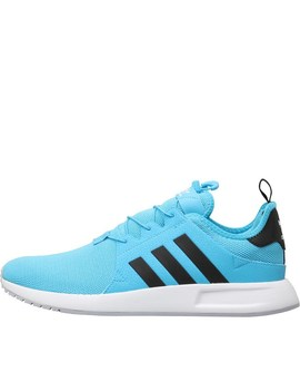 Adidas Originals X Plr Trainers Bright Cyan/Core Black/Footwear White by Mand M Direct
