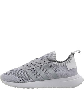 Adidas Originals Womens Primeknit Flb Trainers Clear Onix/Clear Onix/Footwear White by Mand M Direct