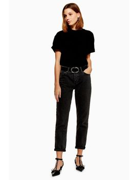 Washed Black Hayden Boyfriend Jeans by Topshop