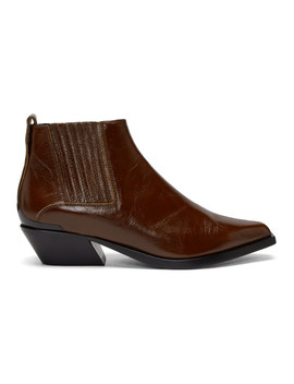 Brown Leather Westin Boots by Rag & Bone